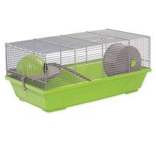 Klec SMALL ANIMAL Erik šedo-zelená se šedou výbavou 1ks
