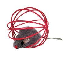 Myš v kleci 6cm VÝPRODEJ