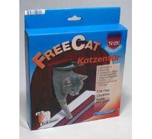 Dvířka kočka plast Hnědá 2P Freecat Classic Trixie hnědá