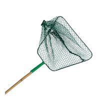 Síťka - podběrák, zelená 25x45/13cm, bambus.tyč 1,40m TRIXIE