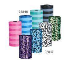 Náhradní sáčky na trus (4 role á 20 ks barevné vzor gepard)
