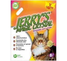 Kočkolit Jerrys Magic Crystals 8l Flower Power (8+1l) zdarma