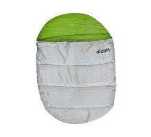 Spací pytel Alcott zelená, šedá
