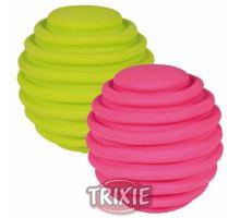 Latexový flexi míček s drážkami 6cm