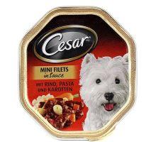 Cesar hovězí s těstovinou a karotkou 150g