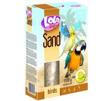 LOLOpets citrónový písek pro ptáky 1500 g