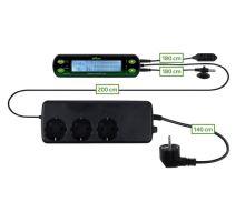 Digitální termostat/hydrostat, dva okruhy 16x4 cm