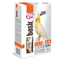 LOLO BASIC kompletní krmivo pro korely 500 g krabička