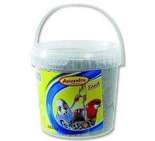 Avicentra písek pro ptáky s mušlemi 1,5kg kyblík