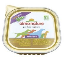 Almo Dog Bio Paté vanička telecí+zelenina 100g