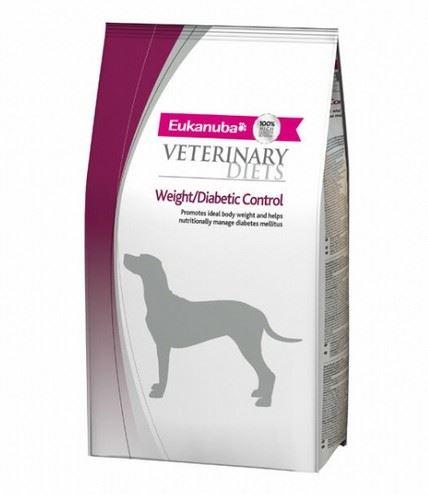 Eukanuba VD Dog Glucose/Weight/Diabetic control 2 balení 12kg exp. 1.12.2017