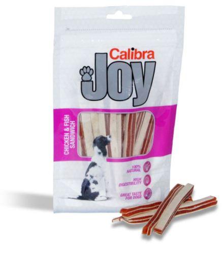 Calibra Joy Chicken & Fish Sandwich 80g