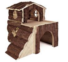 Domek pro křečky, 2 místnosti TRIXIE 15x15x16cm