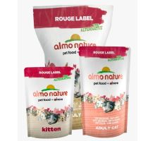 Almo Cat Nat.kočka Dry Rouge Label Kitten kuře 105g