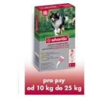 Advantix pro psy spot-on 10-25kg 1x2,5 ml