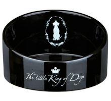 King of Dogs keramická miska zkosená