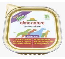 Almo Dog Bio Paté vanička hovězí+zelenina 100g