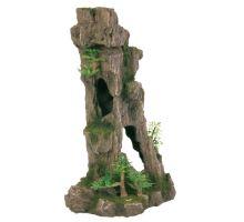 Dekorace jeskyň s rostlinami 28,5cm