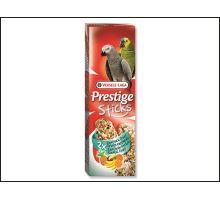 Tyčinky Prestige exotické ovoce pro velké papoušky 140g