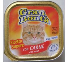 Gran Bonta paštika s hovězím masem pro kočky 100g