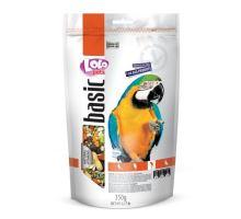 LOLO BASIC kompletní krmivo pro velké papoušky 350 g Doypack