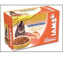 Iams Cat Adult Multipack kapsičky 12ks